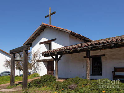 Photograph - Mission San Francisco Solano Downtown Sonoma California R14 by Wingsdomain Art and Photography
