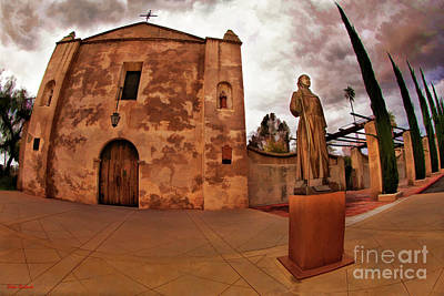 Photograph - Mission San Gabriel San Gabriel Ca by Blake Richards
