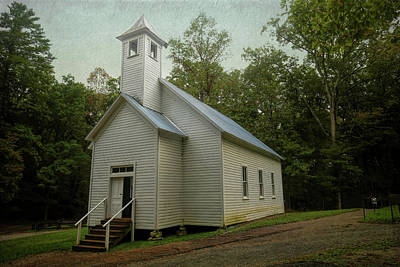 From The Kitchen - Missionary Baptist Church Cades Cove by Judy Vincent