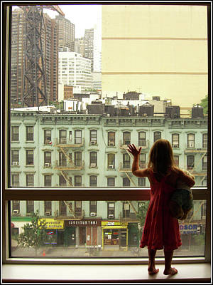 Photograph - Missy At The Window by Jeffrey PERKINS