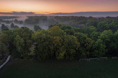 Photograph - Mist In The Trees by Nick Smith