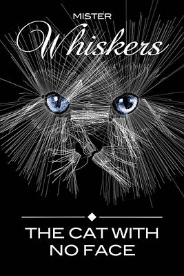 Digital Art - Mister Whiskers by ISAW Company