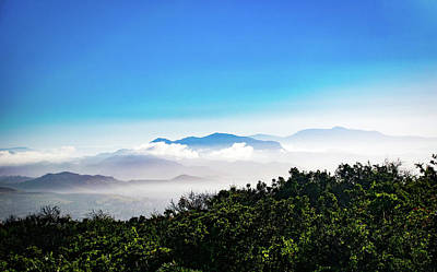 Photograph - Misty Laguna Mountains by Gloria Moeller