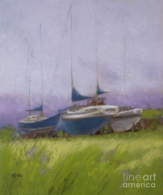 Painting - Misty by Mary Hubley