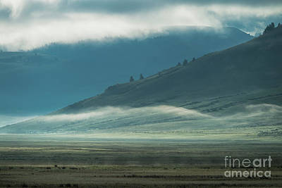 Photograph - Misty Morning - Grand Teton National Park by Sandra Bronstein