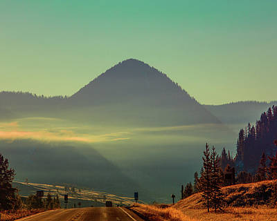 Photograph - Misty Mountain Morning by Pete Federico