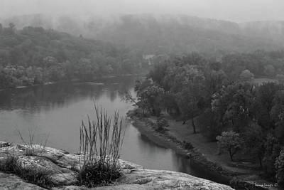 Photograph - Misty Mountain by Wesley Nesbitt