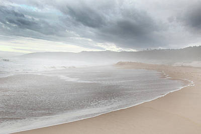 Photograph - Misty Ocean by Images Unlimited
