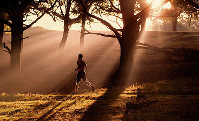 On The Move Photograph - Misty Run by John And Tina Reid