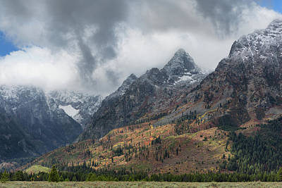 Photograph - Misty Teton Peaks by Kathleen Bishop