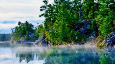 Photograph - Misty Waters by Bryan Smith