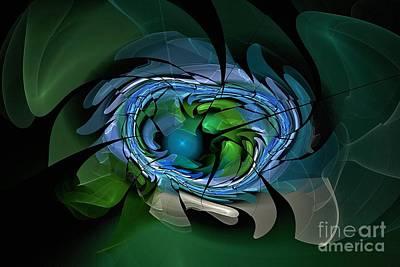 Digital Art - Mitochondrial Disassembly by Doug Morgan