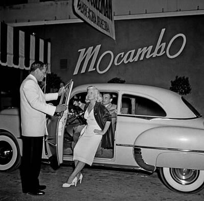 Dress Photograph - Mocambo  Nightclub by Michael Ochs Archives