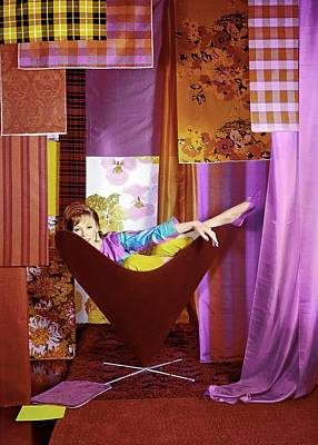 Photograph - Model In A George Tanier Chair by Horst P. Horst