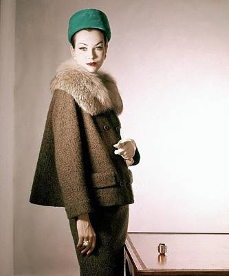 Photograph - Model In Handelsman & Raiffe by Horst P. Horst