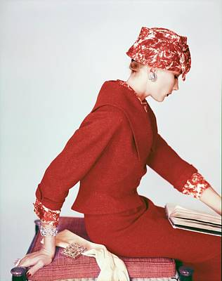 Photograph - Model In Lord & Taylor by Henry Clarke
