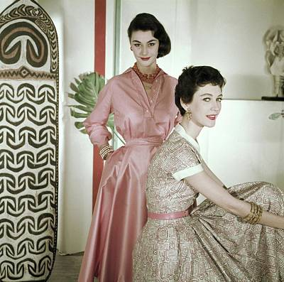 Photograph - Models In Carlebach Gallery by Horst P. Horst