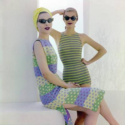 Photograph - Models In Cole Of California by Horst P. Horst