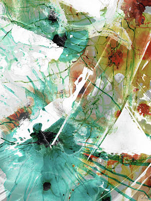 Painting - Modern Abstract Art - Chances - Sharon Cummings by Sharon Cummings