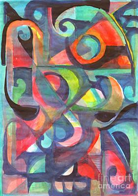 Painting - Modern Abstract Art by Irina Dobrotsvet