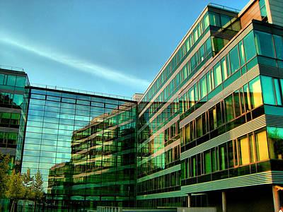 Jonny Jelinek Royalty-Free and Rights-Managed Images - Modern Architecture In Vienna by Jonny Jelinek