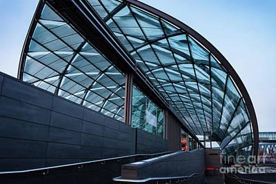 Modern Architecture Shell Art Print