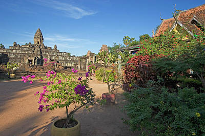 Photograph - Modern Buddhist Temple Below Bakong In by Myloupe/uig