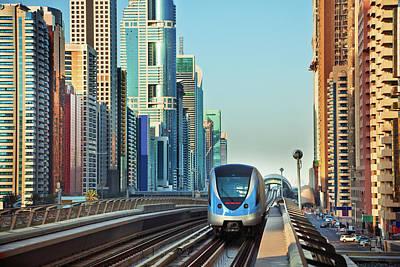 Photograph - Modern Dubai by Nikada