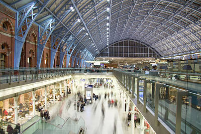 Photograph - Modern Railway Station by King louie