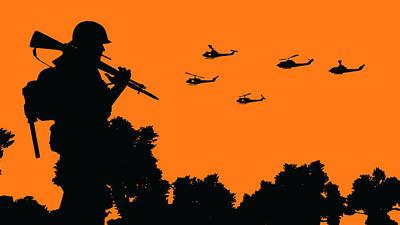Painting - Modern Warfare - 04 by Andrea Mazzocchetti