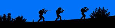 Painting - Modern Warfare - 05 by Andrea Mazzocchetti
