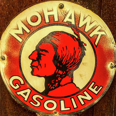 Photograph - Mohawk Gasoline by TL Mair