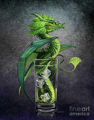 Digital Art - Mojito Dragon by Stanley Morrison