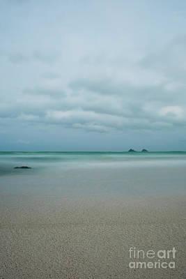 Photograph - Mokes From Kailua Beach by Charmian Vistaunet