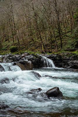 Photograph - Molalla Cascade by Steven Clark