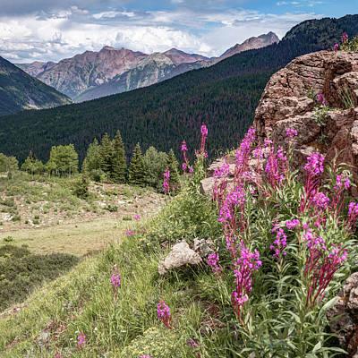 Photograph - Molas Pass Mountain Landscape - Colorado San Juan Mountains by Gregory Ballos