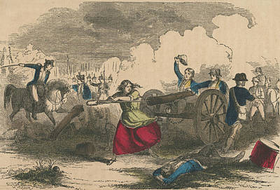 Molly Pitcher Art Print by Hulton Archive