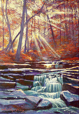 Painting - Moment Of Calm by David Lloyd Glover