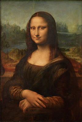 Painting - Mona Lisa By Leonardo Da Vinci, Oil On by Fine Art Images