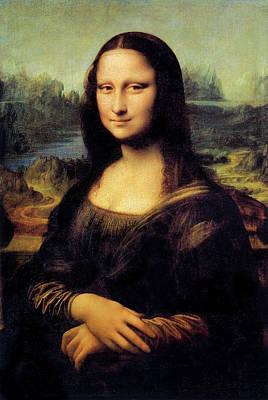 Photograph - Mona Lisa By Leonardo Da Vinci by Stuart Dee