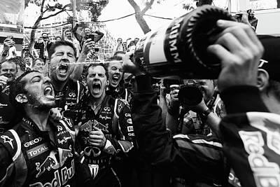 Photograph - Monaco F1 Grand Prix - Race by Vladimir Rys