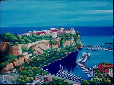 Painting - Monaco by Jean Pierre Bergoeing