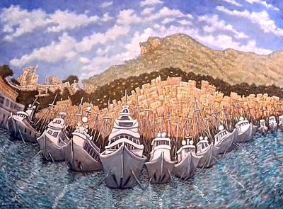 Painting - Monaco by Linda Mccluskey