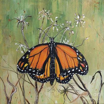 Painting - Monarch by Lizi Beard-Ward