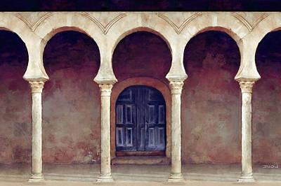 Monastery In Northern Spain Original