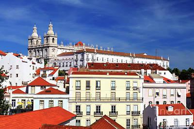 Photograph - Monastery Of Sao Vicente De Fora Lisbon by John Rizzuto