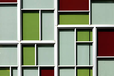 Photograph - Mondrian Windows by Stuart Allen