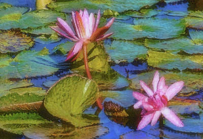 Photograph - Monet's Muse by HH Photography of Florida