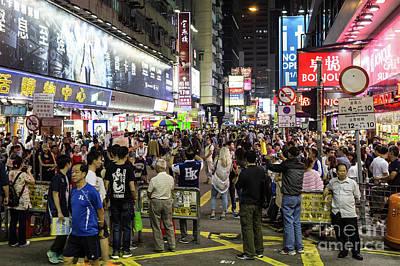 Photograph - Mong Kok In Hong Kong by Didier Marti