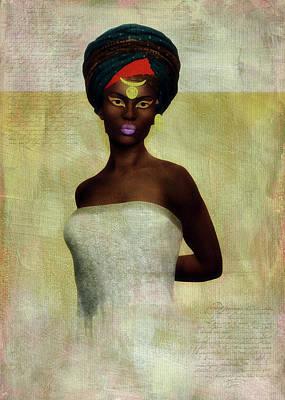 Digital Art - Monique by Jan Keteleer